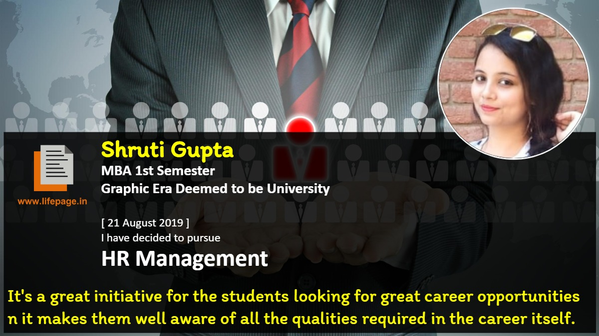 It's a great initiative for the students looking for great career opportunities n it makes them well aware of all the qualities required in the career itself.