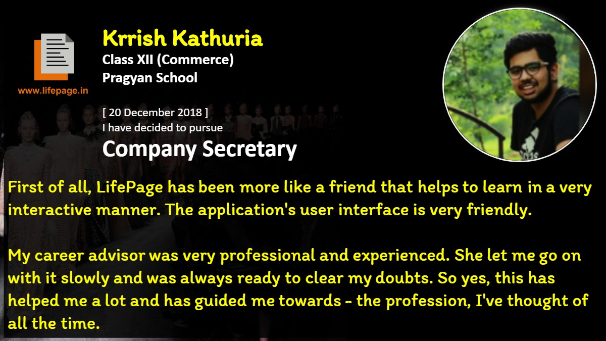 First of all, LifePage has been more like a friend that helps to learn in a very interactive manner. The application's user interface is very friendly. 