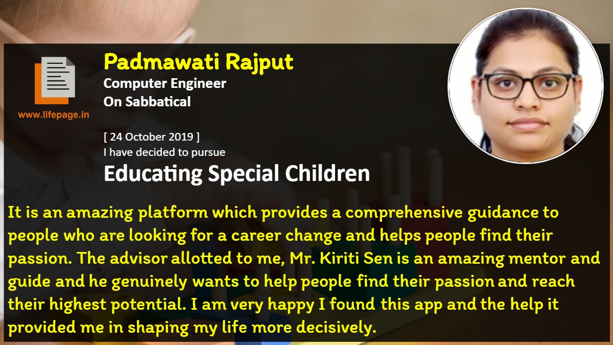 It is an amazing platform which provides a comprehensive guidance to people who are looking for a career change and helps people find their passion. The advisor allotted to me, Mr. Kiriti Sen is an amazing mentor and guide and he genuinely wants to help people find their passion and reach their highest potential. I am very happy I found this app and the help it provided me in shaping my life more decisively.