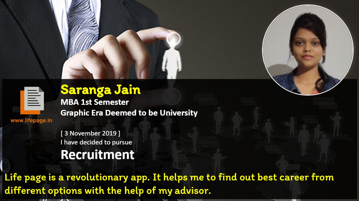 Life page is a revolutionary app. It helps me to find out best career from different options with the help of my advisor.
