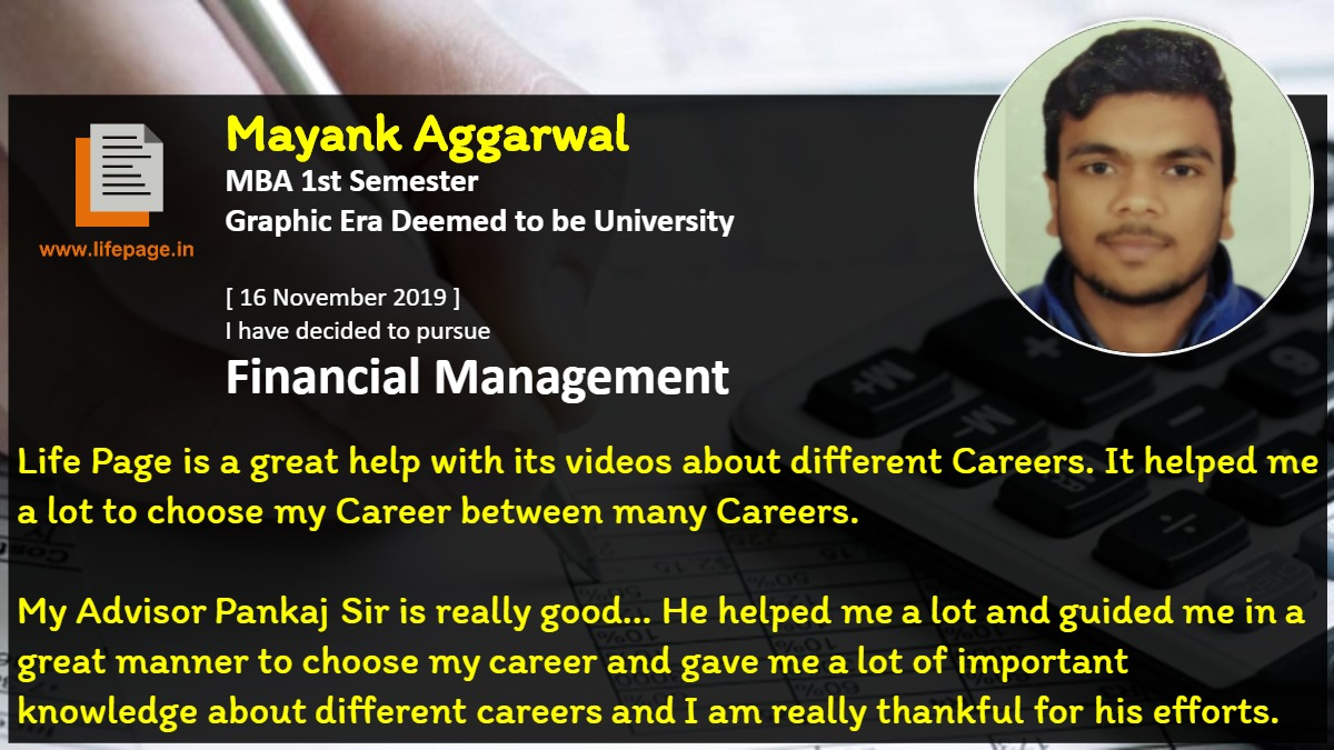 Life Page is a great help with its videos about different Careers. It helped me a lot to choose my Career between many Careers. 