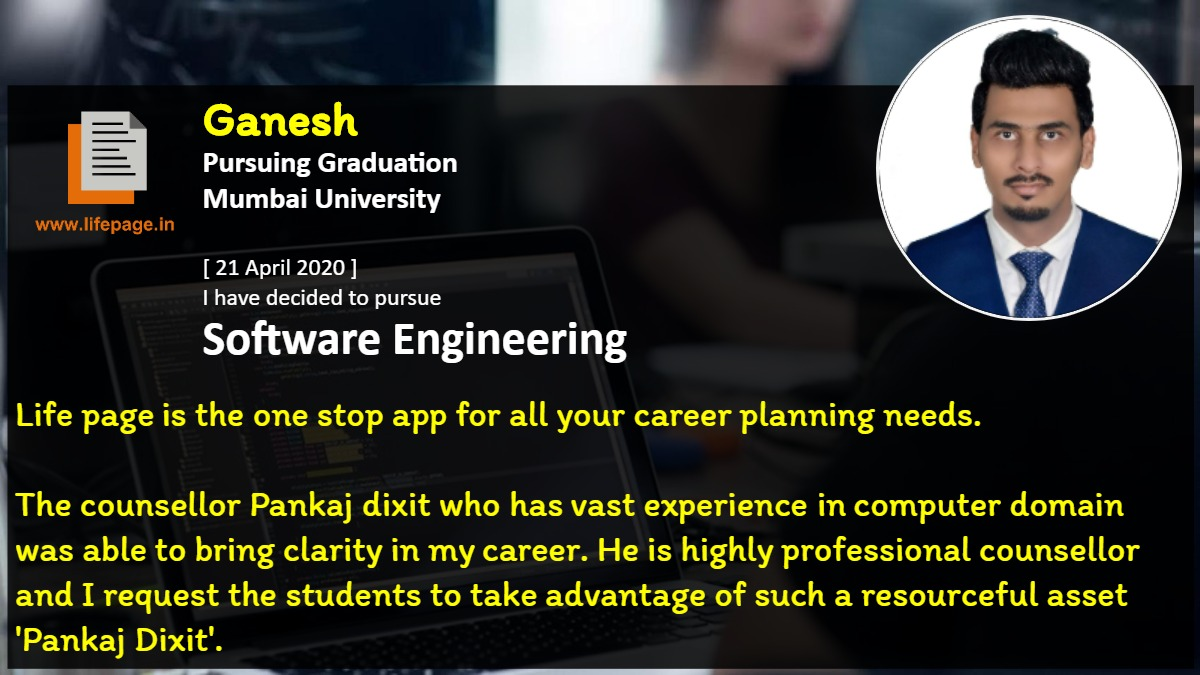 Life page is the one stop app for all your career planning needs. <br />