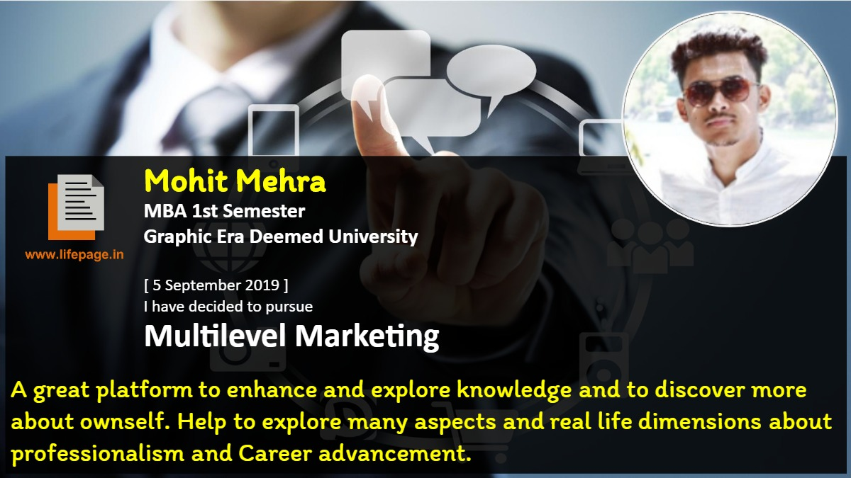 A great platform to enhance and explore knowledge and to discover more about ownself. Help to explore many aspects and real life dimensions about professionalism and Career advancement.